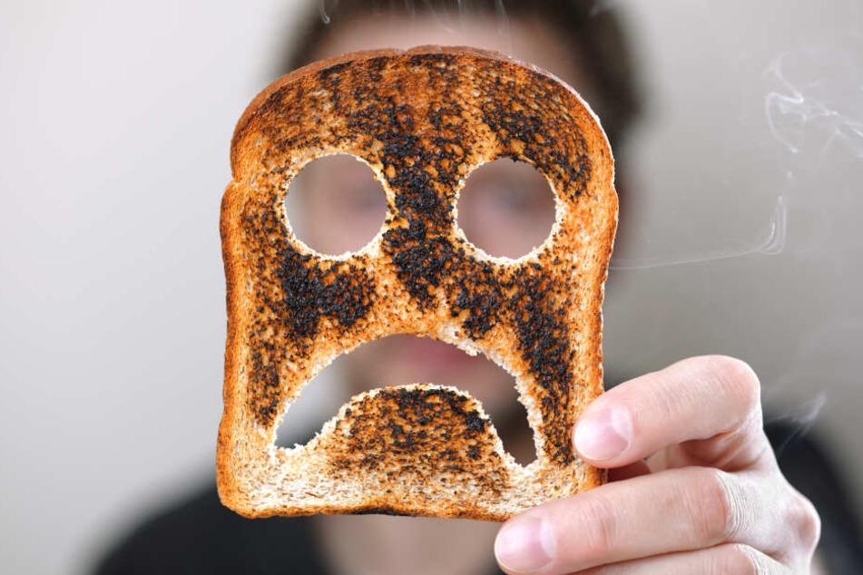 Verbrannter Toast sorgte für eine hohe Luftbelastung. (Symbolbild)