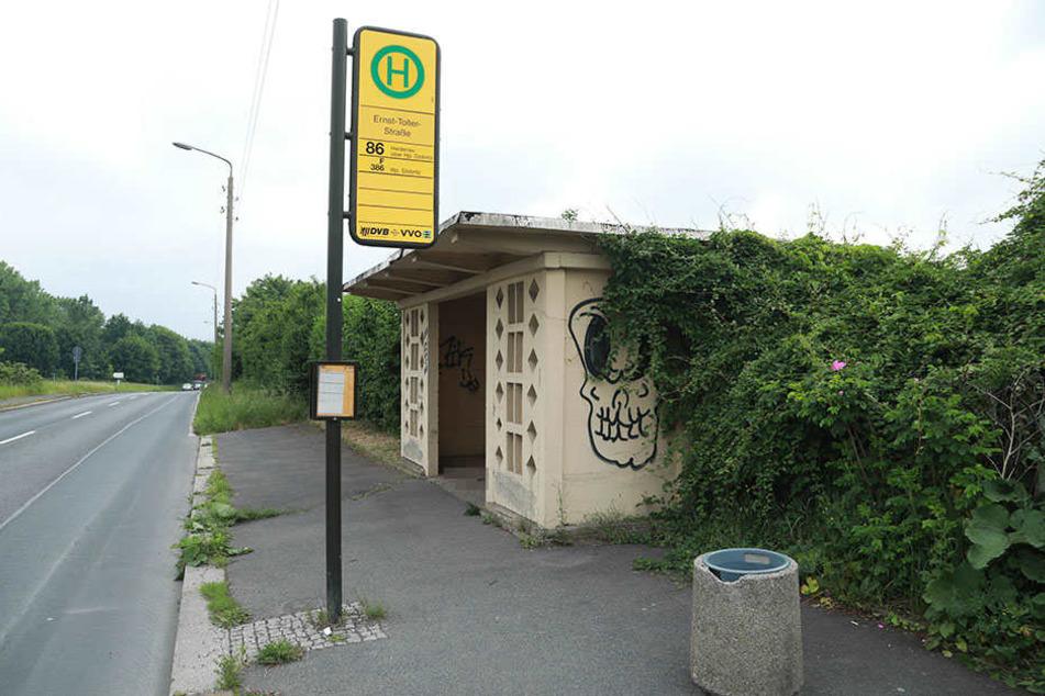An der Haltestelle Ernst-Troller-Straße wurde der Mann gefunden.