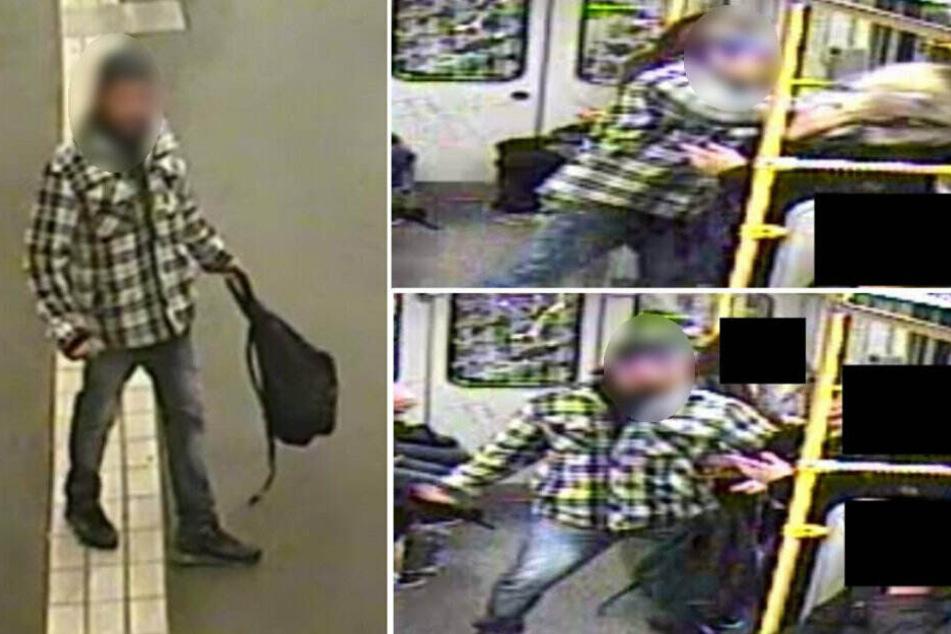Attacke in der U1: Polizei sucht nach brutalem U-Bahn-Schläger