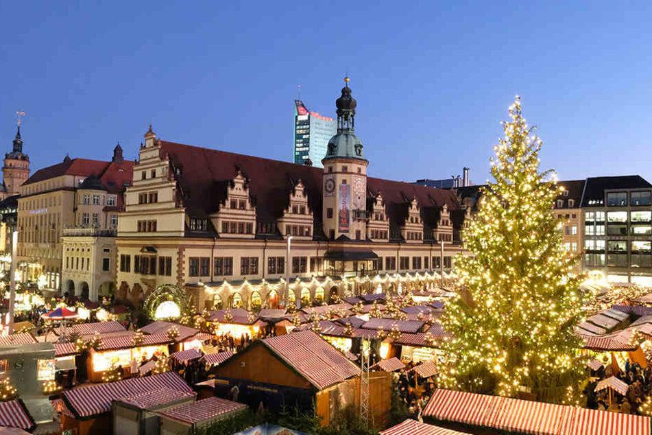 Bleibt der Leipziger Weihnachtsmarkt bald bis Januar aufgebaut?
