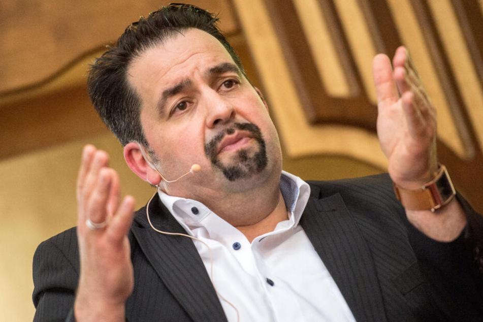 Aiman Mazyek (50) ist Vorstandsvorsitzender des ZMD.
