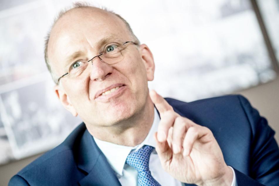 Marco Fuchs leitet den Bremer Raumfahrtkonzern OHB.