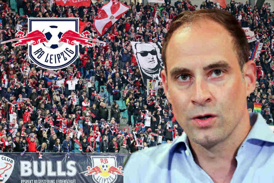 Fan-Zoff bei RB Leipzig: Jetzt mischt sich auch der Boss ein