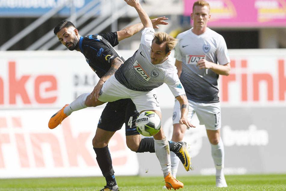 Doppelpacker: Massih Wassey (29, schw.) war einmal mehr der Matchwinner für den SC Paderborn.
