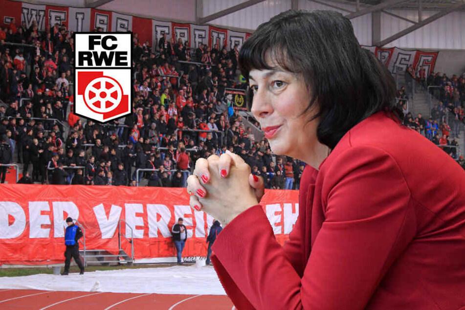 Diese CDU-Politikerin will Rot-Weiß Erfurt den Geldhahn abdrehen