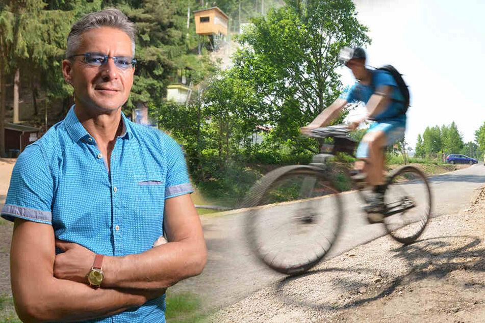 Auch das gibt's: Neuer Mittelbach-Radweg eher fertig als geplant