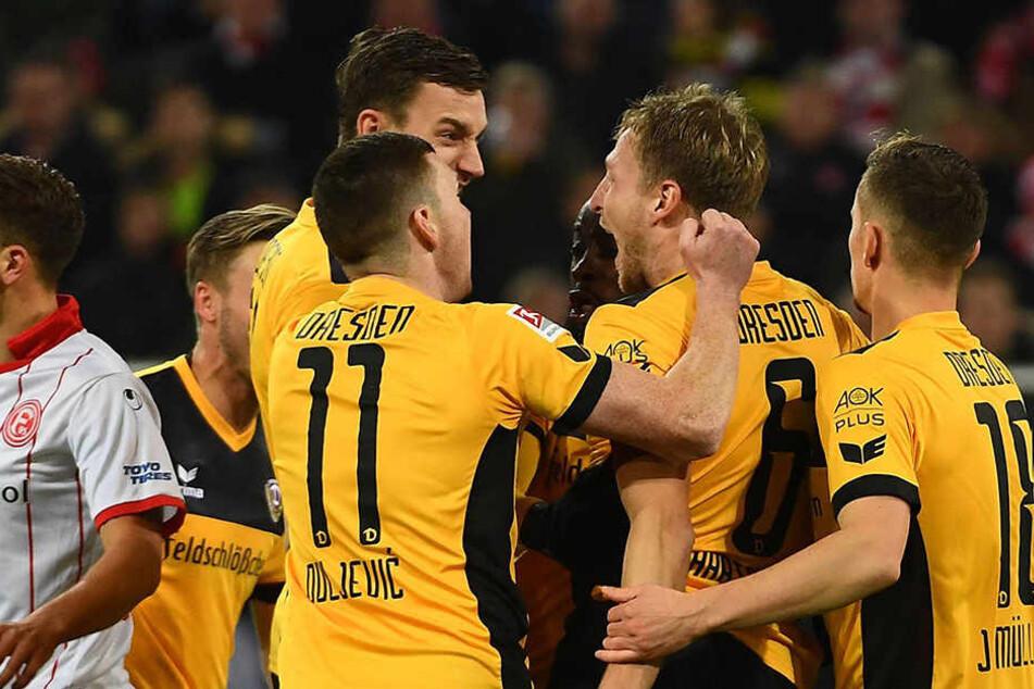 In Düsseldorf konnte Dynamo am Montagabend nach langer Zeit wieder einen Dreier holen, brechen sie am Sonntag im Sachsenderby auch den Heimbann?