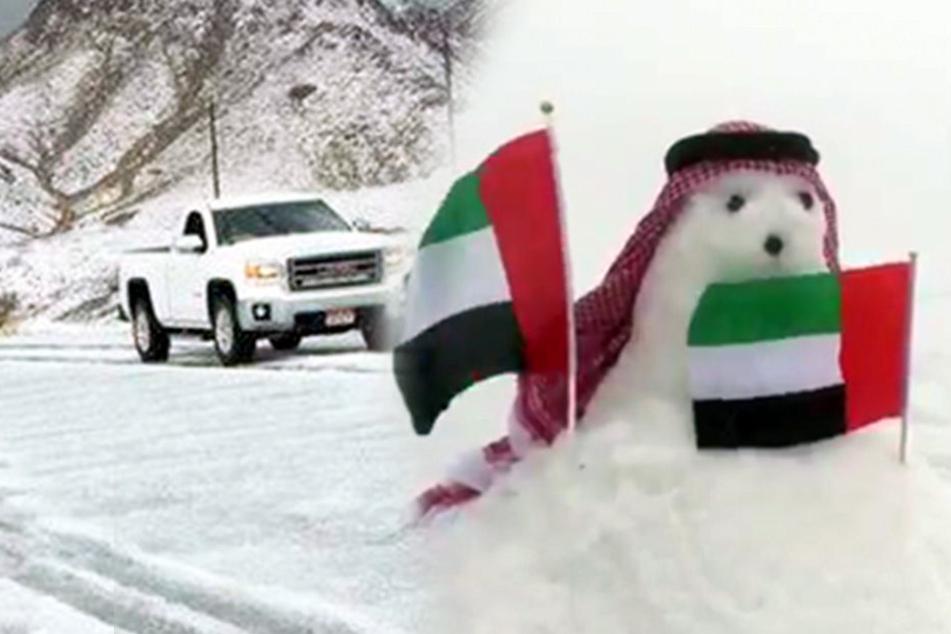 Wintereinbruch in den Arabischen Emiraten