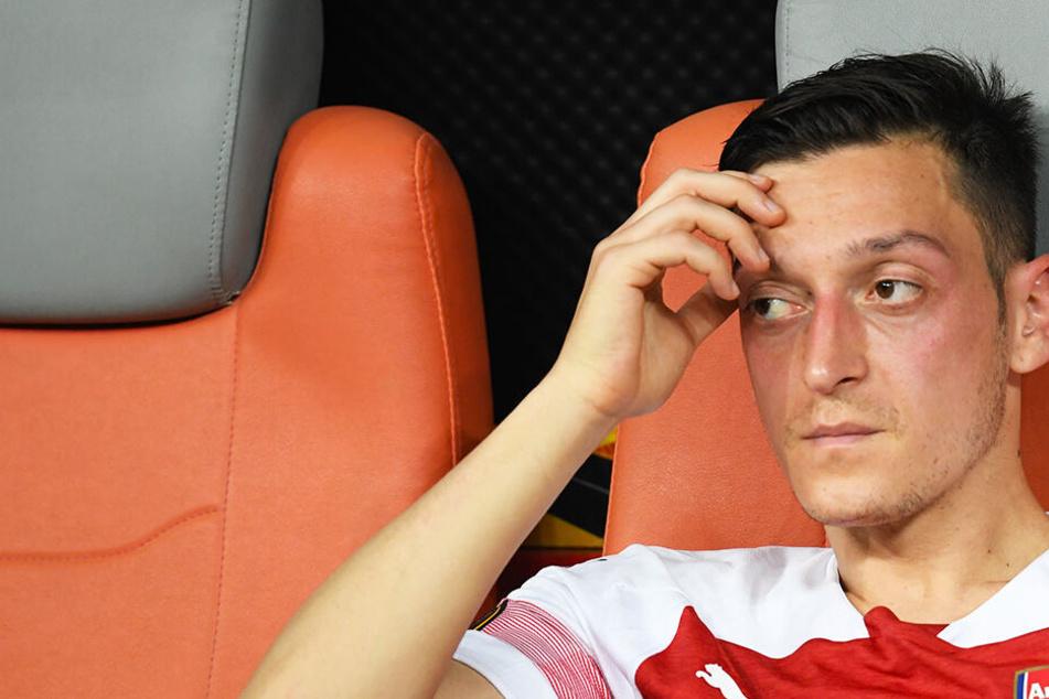 Mesut Özil beim FC Arsenal außen vor: Nicht mal mehr gut genug für die B-Elf?