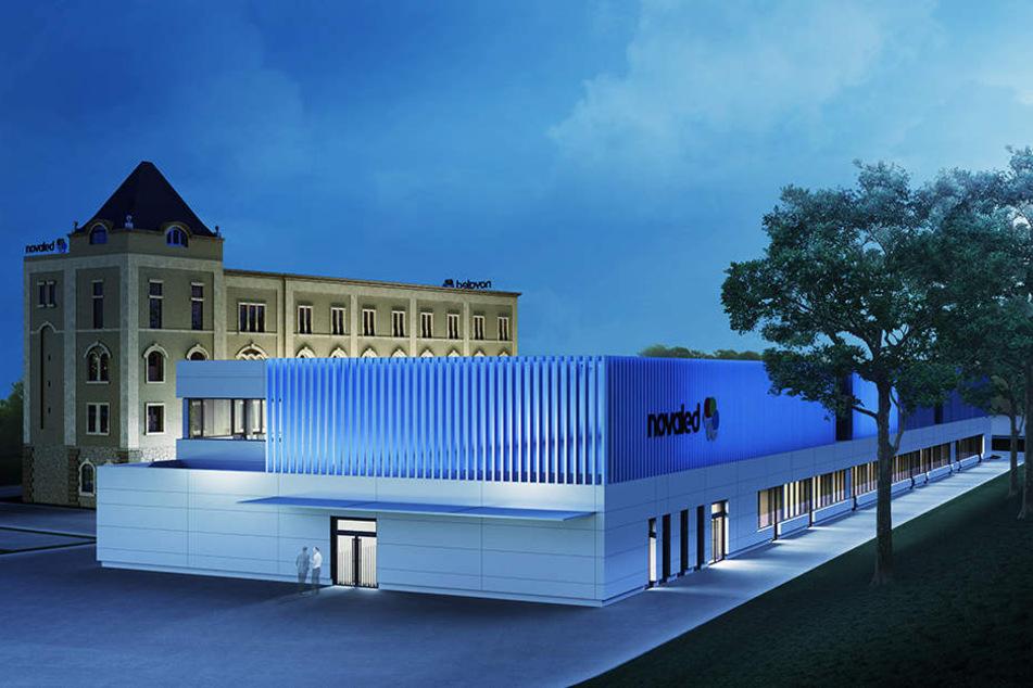Mitte 2018 sollen der Neubau fertig, die Mühle saniert sein. Investiert werden 25 Millionen Euro.