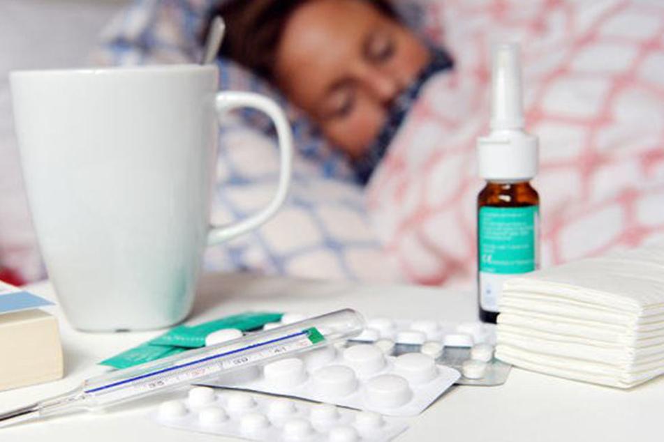Die Grippewelle macht Deutschland weiter zu schaffen.