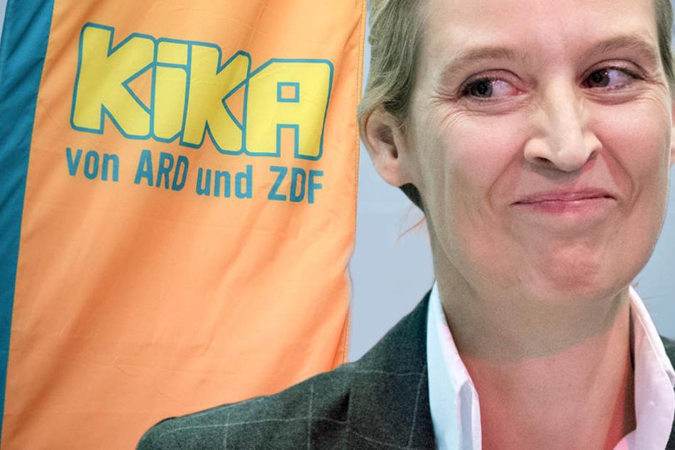 AfD-Frontfrau Alice Weidel will Kinderkanal verbieten wegen Syrern, Brüsten und Vaginas