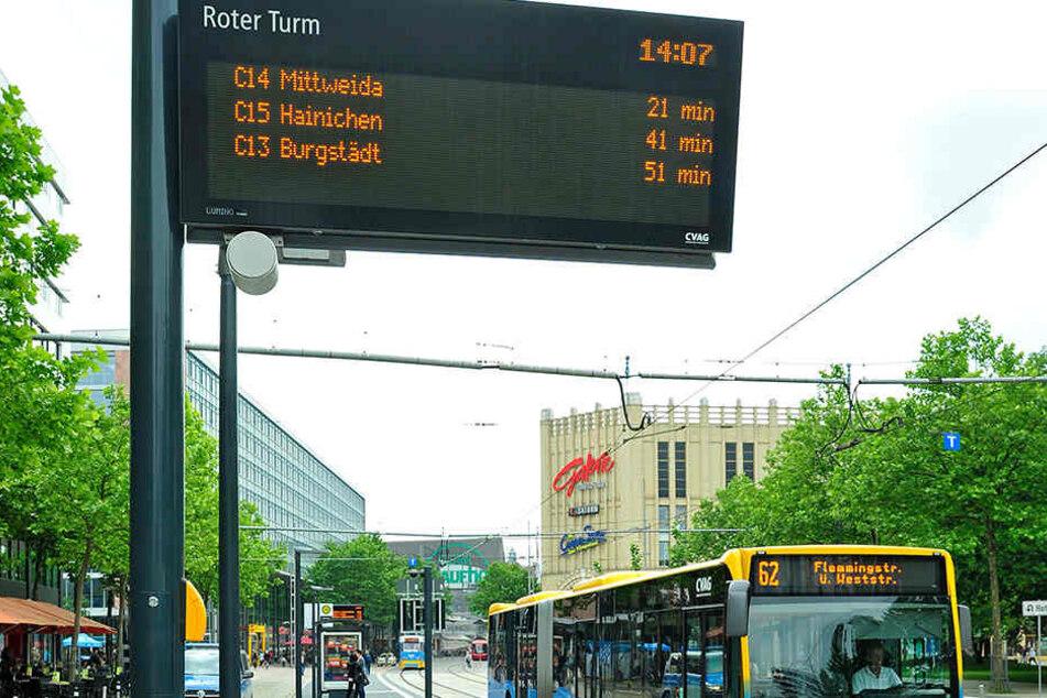 """Die Busse der CVAG sind bereits auf """"Echtzeit"""" umgestellt. Im Umland soll diese Technik jetzt folgen."""