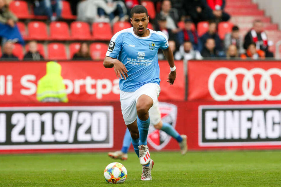 Kiel-Leihgabe Noah Awuku fehlt dem Chemnitzer FC in der kompletten Rückrunde.