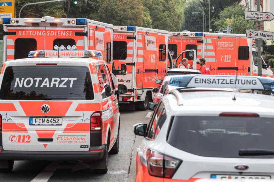 Das Mädchen wurde schwer verletzt ins Krankenhaus gebracht. (Symbolbild)
