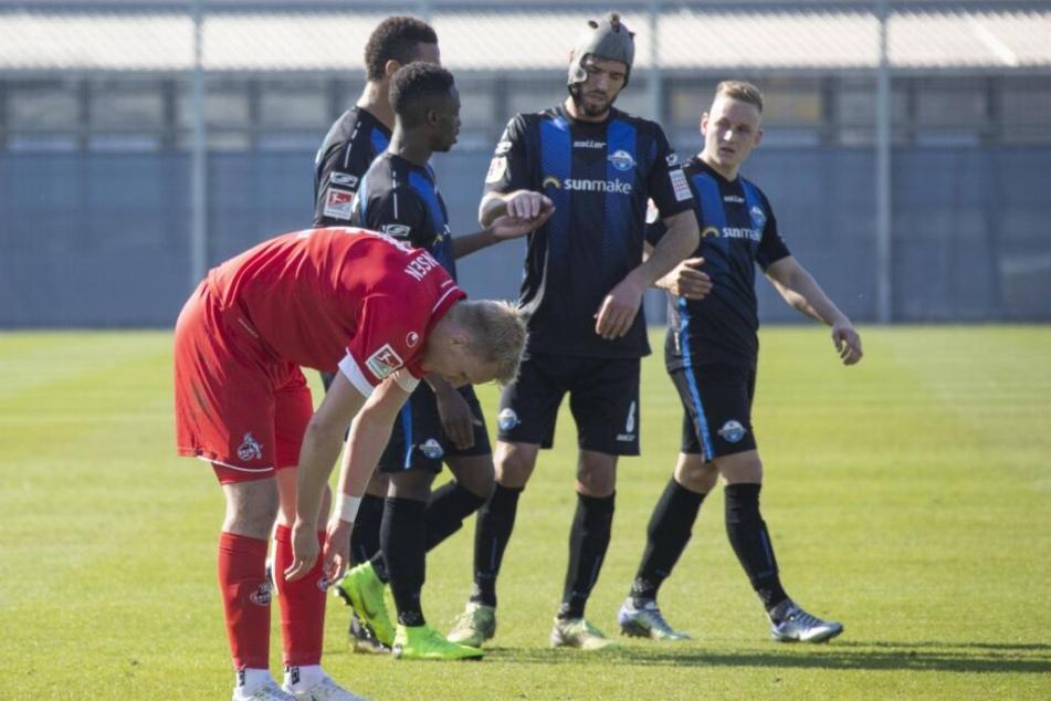 Auch in der dritten Begegnung mit Köln gingen die SCP-Kicker als Sieger heraus.
