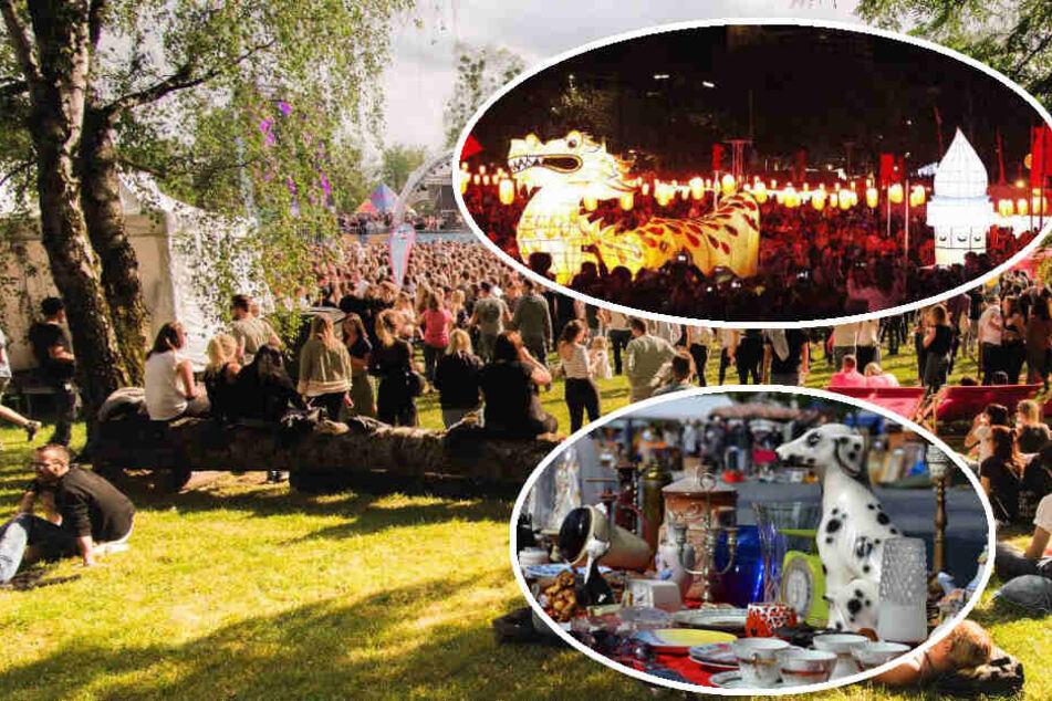 Asia-Fest, Hofflohmärkte und elektronische Musik: Der Samstag in München