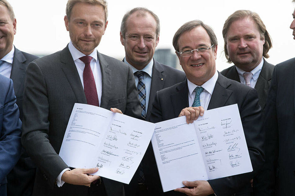 NRW-CDU stimmt auf Parteitag über Koalitionsvertrag ab