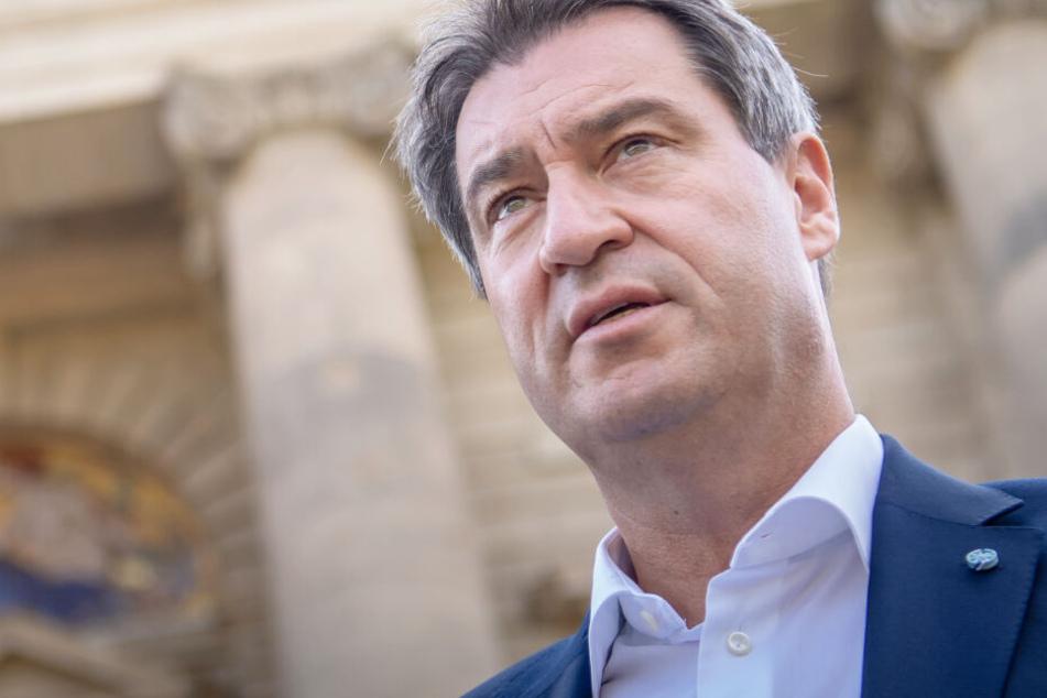 CSU-Politiker Markus Söder will sich für den Umweltschutz in Bayern verstärkt einsetzen.