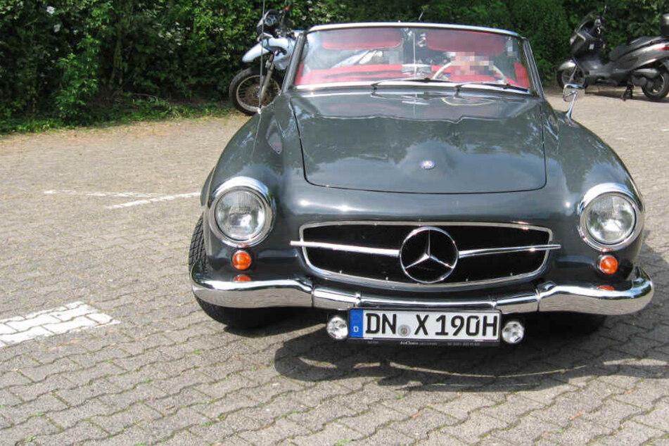 Schon wieder Oldtimer-Klau: Mercedes für 170.000 Euro ist weg