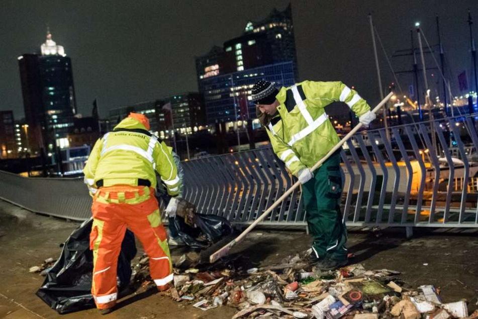 Die Böller machen nicht nur Müll, sondern belasten auch die Umwelt.