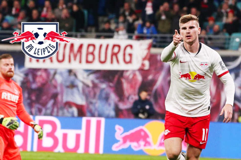 RB Leipzig lässt dem 1. FC Köln keine Chance! Fünfter Sieg in Folge