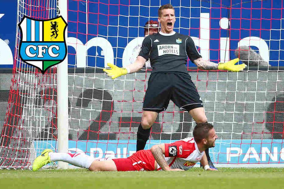 Irre Schlussphase: CFC-Youngster gleichen aus, dann trifft Regensburg zum Sieg