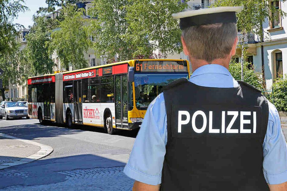 Busfahrerin der Linie 61 während der Fahrt sexuell belästigt