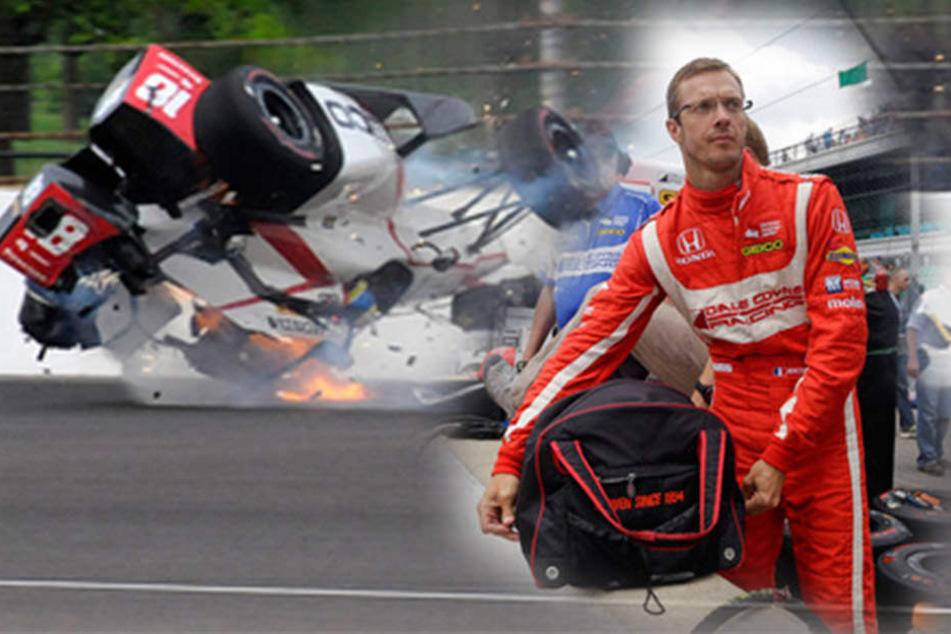 Nach Horror-Crash: So geht es dem verletzten Ex-Formel-1-Pilot