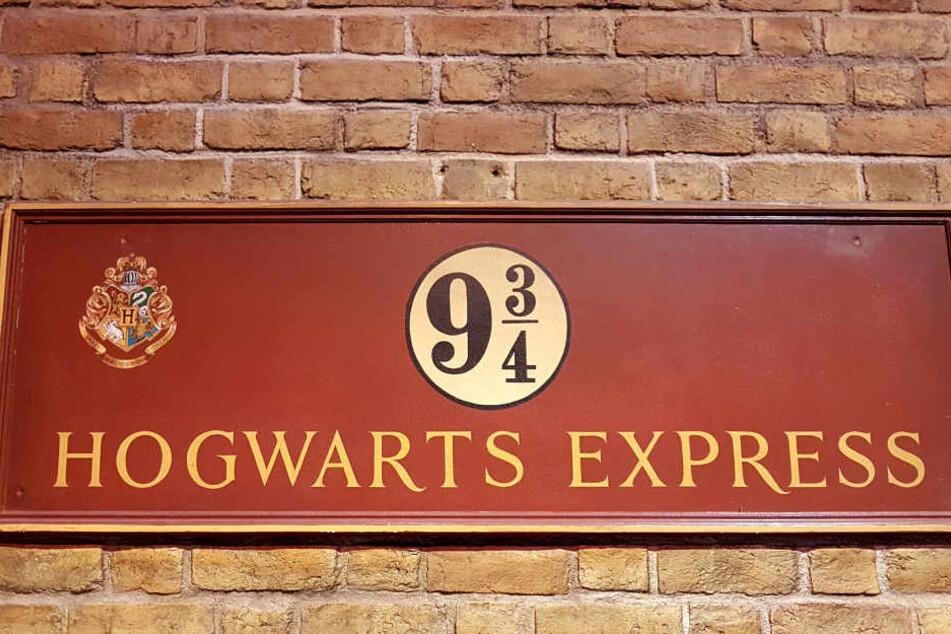 Das Gleis 9¾ wartet auf Euch im Bahnhof King's Cross.