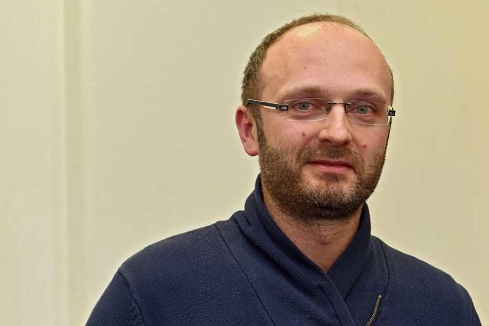 Der Geschäftsführer des Fanprojekts Torsten Rudolph.