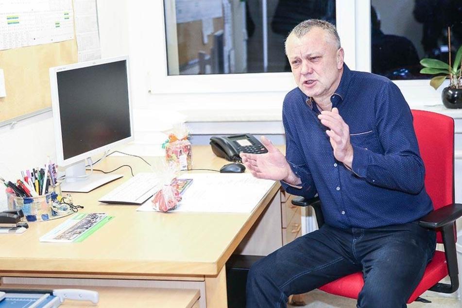 Frank Haubitz (59, parteilos) bleibt auch nach seiner Rückkehr ein engagierter Pädagoge.