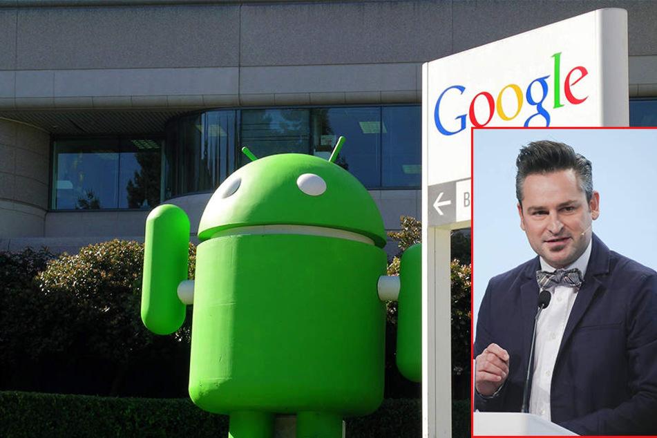 """Dr. Frederik G. Pferdt ist """"Chief Innovation Evangelist"""" bei Google."""