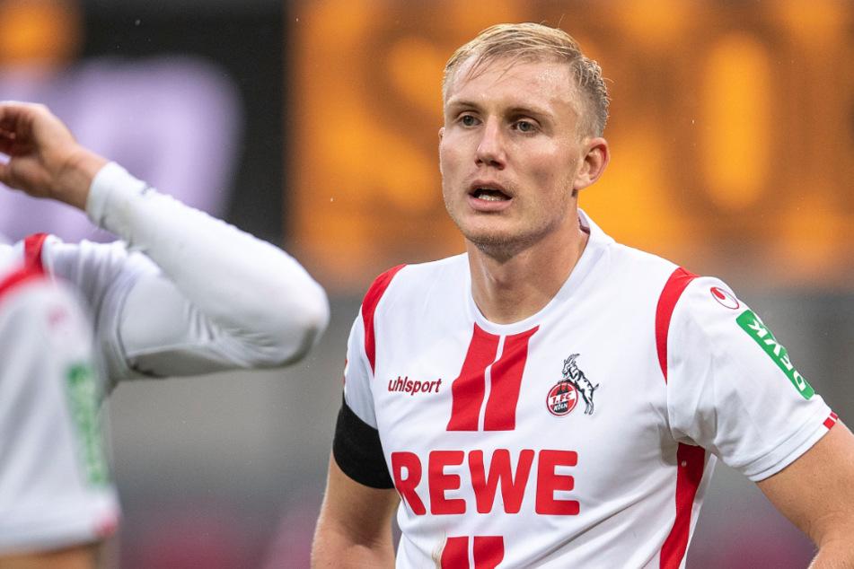 Frederik Sörensen (28) spielte seit 2015 für den 1. FC Köln. Jetzt wurde sein Vertrag aufgelöst.