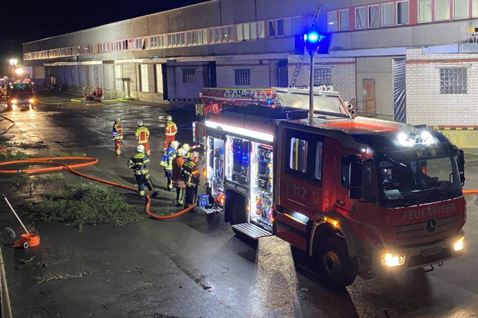 Flüchtlingsunterkunft wegen brennender Matratze geräumt