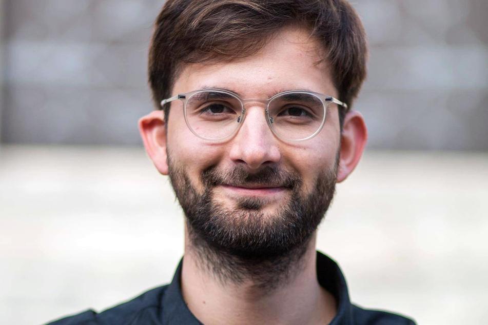 Oleg Shevchenko ist der Chef der Thüringer SPD-Jugendorganisation Jusos.