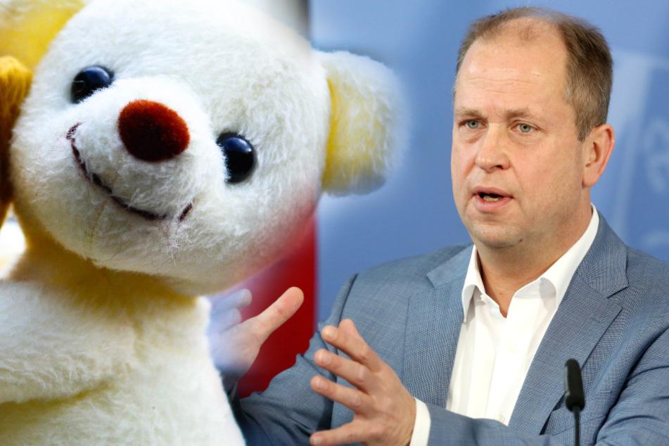 NRW-Familienminister: Eigenes Kuscheltier darf mit in die Kita