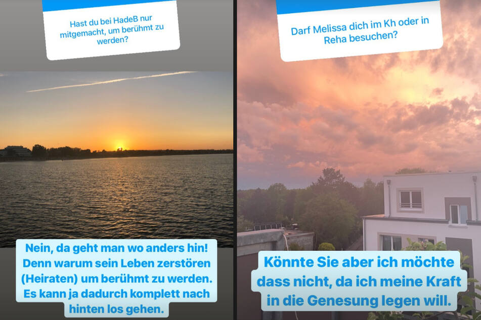 Bei Instagram beantwortete Philipp die Fragen seiner Fans.