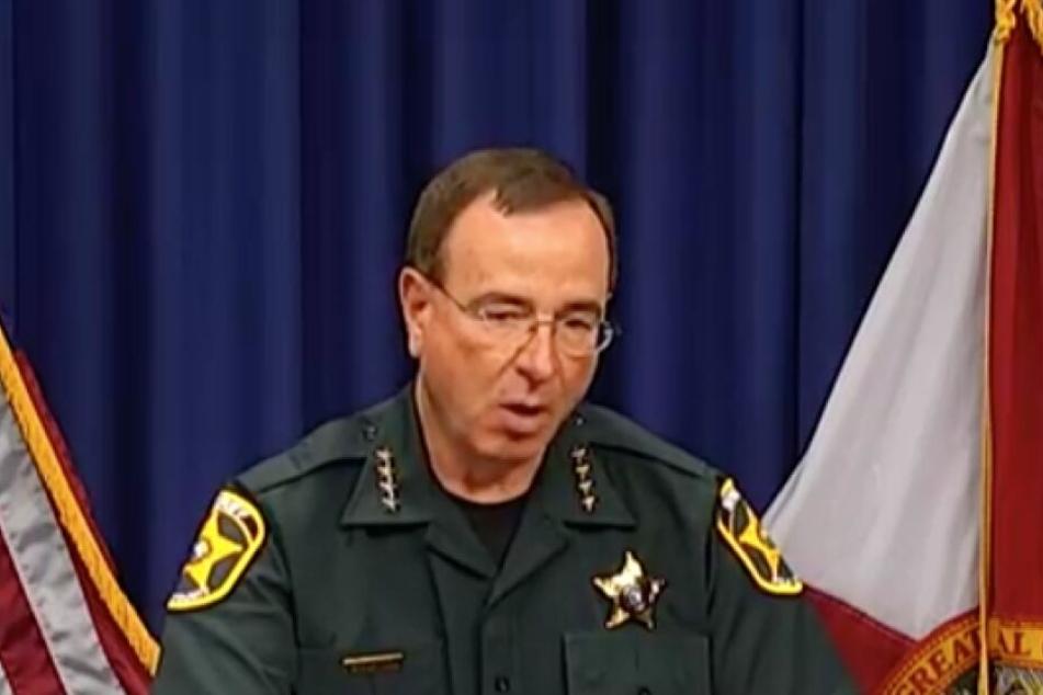 Sheriff Grady Judd gab Details zur Verdächtigen bekannt.