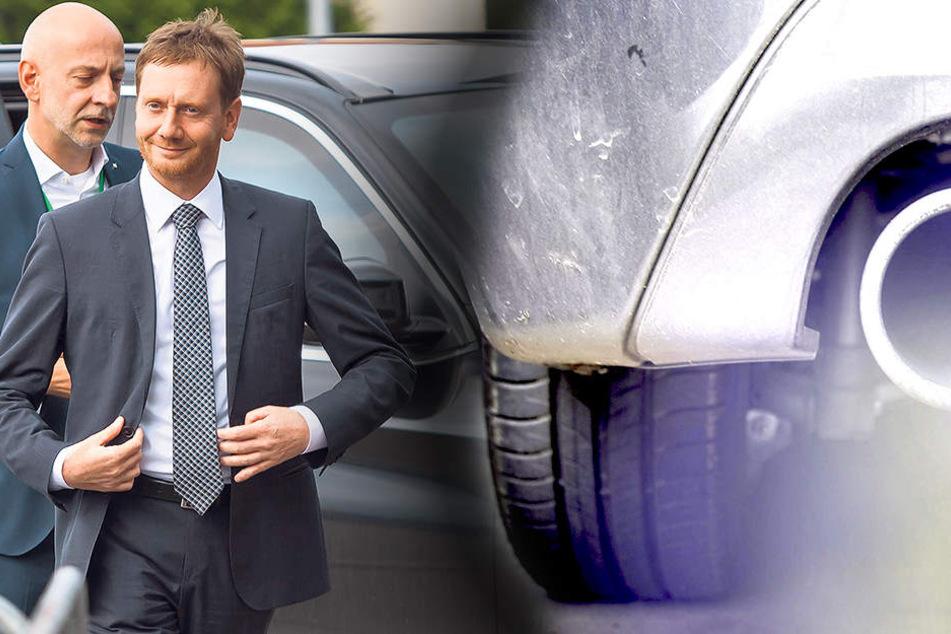 Keine Chance für E-Autos! Sachsens Regierung will 1100 neue Diesel
