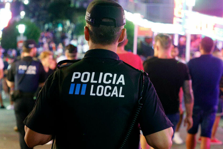 Die Polizei in Palma (Symbolbild).