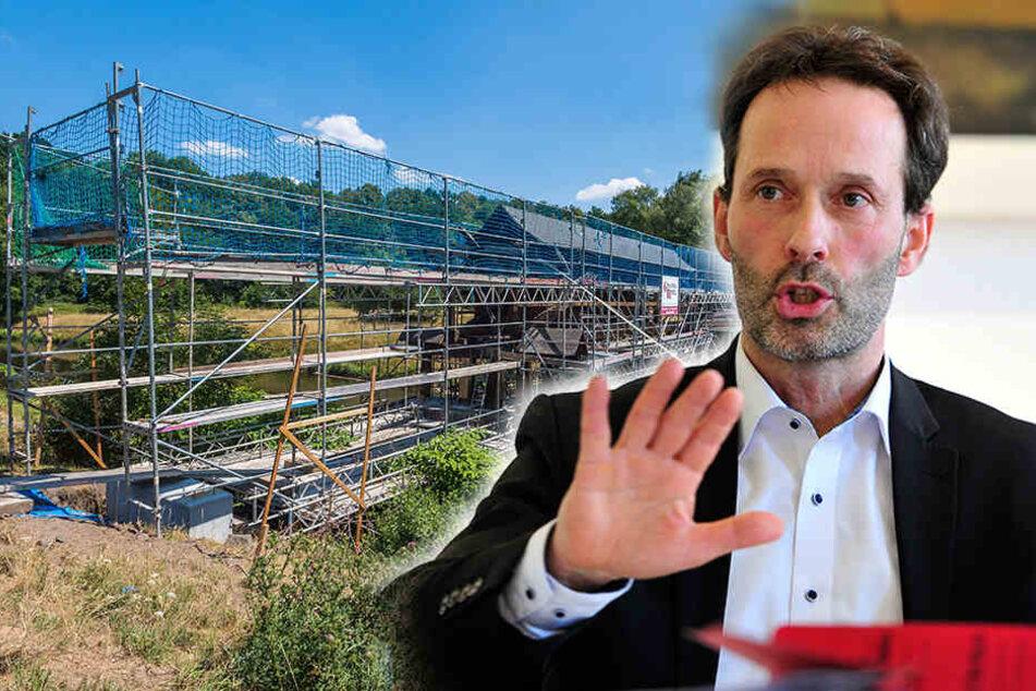 Zwickau guckt (mal wieder) in die Röhre: Baufiasko bei Sachsens ältester Holzbrücke