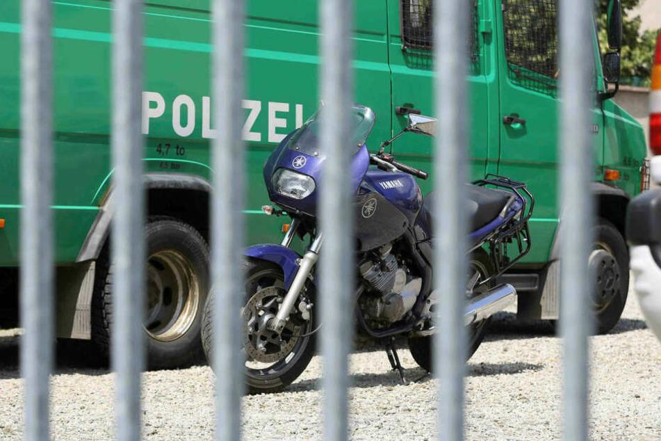 In Sachsen werden immer mehr Motorräder gestohlen - 689 seit Jahresbeginn.
