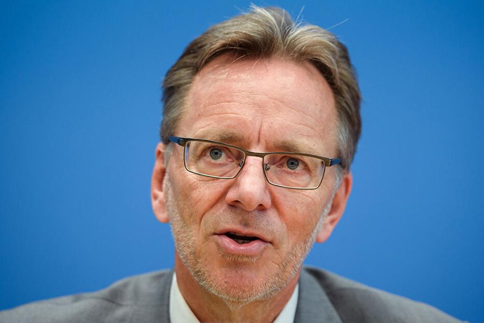 Holger Münch (58), Präsident des Bundeskriminalamtes.
