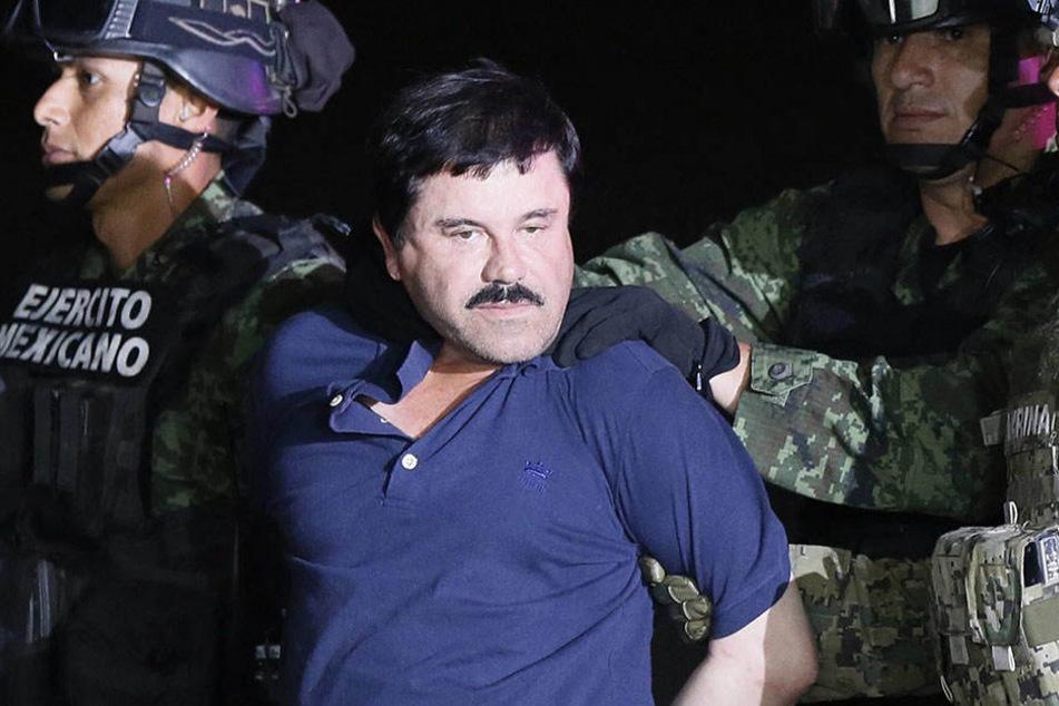 "Im Januar 2016 wurde der Drogenboss Joaquín ""El Chapo"" Guzmán verhaftet."