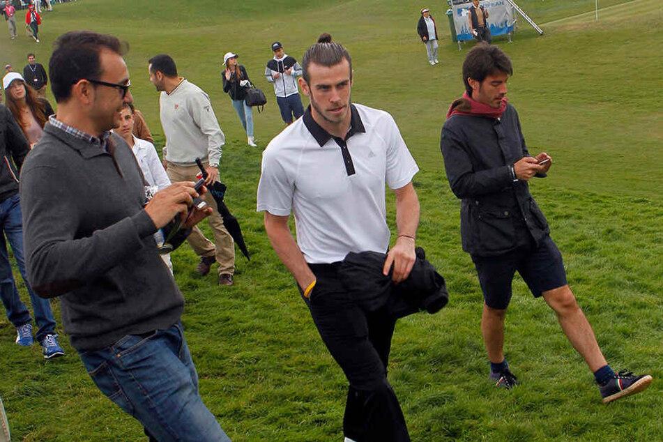 Bale 2016 bei einem Golfturnier in Südspanien.