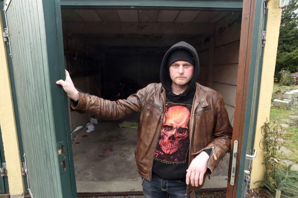 Oliver Meyer (32) ärgert sich richtig über den Verlust des Traumautos.