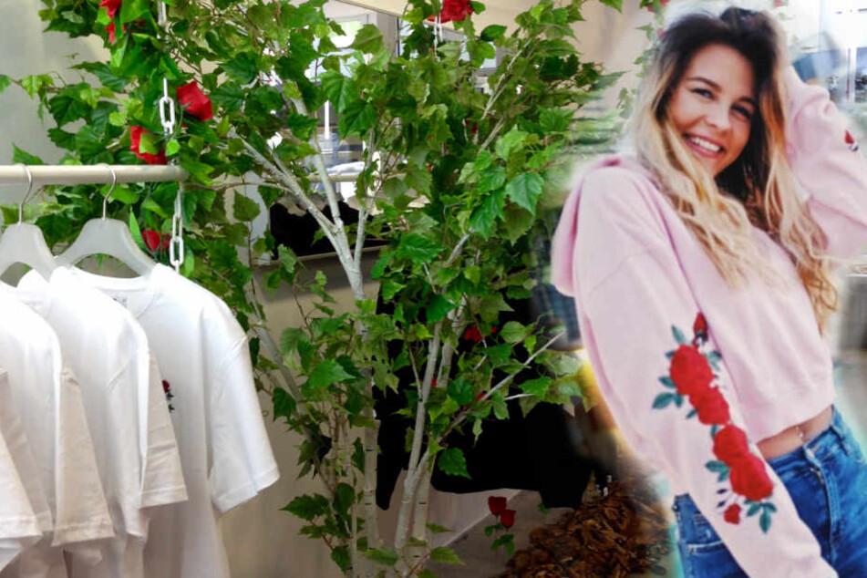 Fünf Wochen lang können Fans der Beauty-YouTuberin dort ihr Merchandise kaufen.
