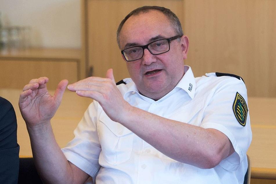 Möchte mit mehr Streifen für Sicherheit sorgen: Polizeipräsident Conny Stiehl (60).