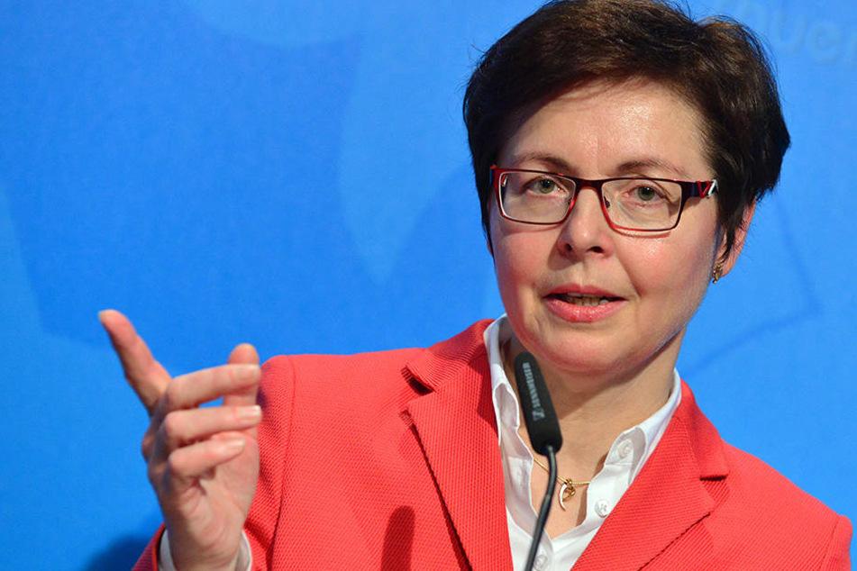 Finanzministerin Heike Taubert (SPD) rechnet in diesem Jahr mit einem dicken Plus bei den Steuereinnahmen.